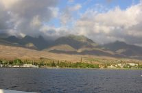 Lahaina, from the ocean